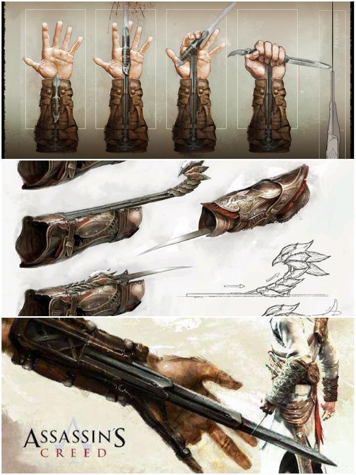 Hidden Blade Types The Assassin's Hidden Blade