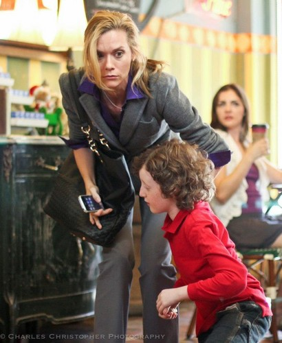 Hilarie burton in her new movie Naughty atau Nice