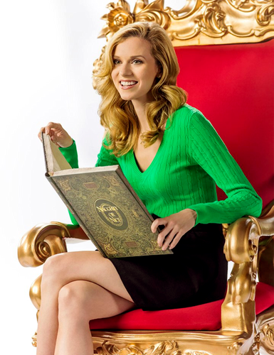 Hilarie aparejo, burton in her new movie Naughty o Nice