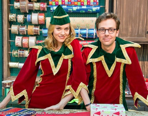 Hilarie burton in her new movie Naughty or Nice