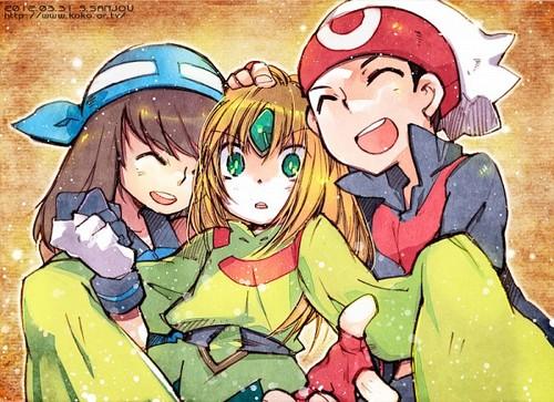 Hoenn Trio