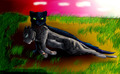 Hollyleaf and Ashfur - warriors-novel-series fan art