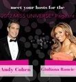 Hosts for the 2012 Miss Universe pageant