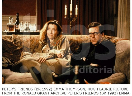Hugh Laurie and Emma Thompson -Peter's Друзья 1992