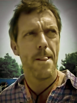 Hugh Laurie- tongue
