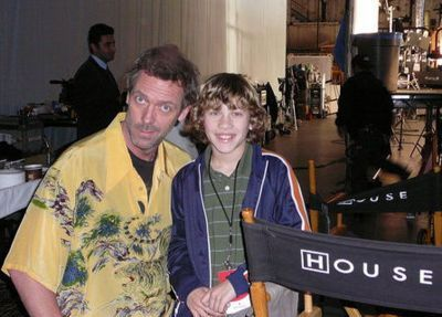 Hugh laurie- 2009 Set House MD