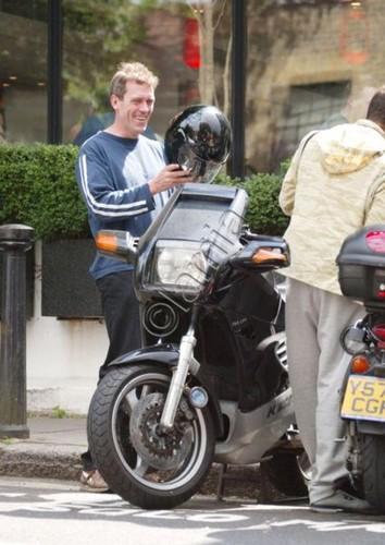 Hugh Laurie is 1999 in London.
