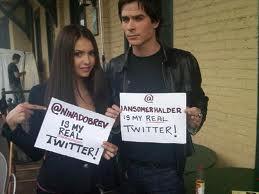 Ian & Nina on Twitter
