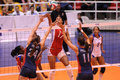In action - volleyball photo