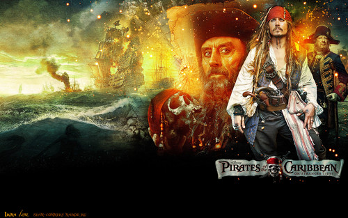 Johnny Depp wallpaper probably containing anime titled JDepp ~ POTC