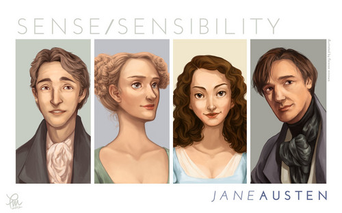 Jane Austen wallpaper with a portrait entitled Jane Austen