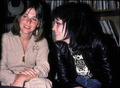 Joan Jett with Suzi Quatro <3
