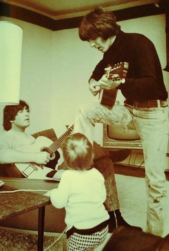 John, George & Julian