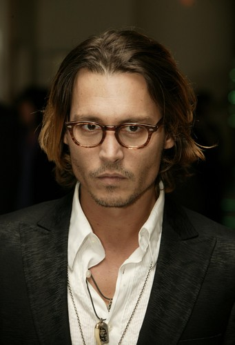 Johnny Depp during 2004 BAFTA Awards - Inside Arrivals at The Odeon Leicester Square in London, Unit