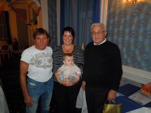 Josef Vana and fan