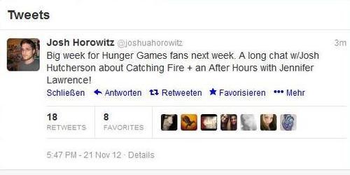 Josh Horowitz about Josh and Jennifer