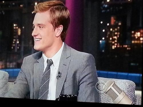 Josh on Letterman