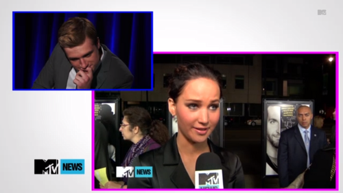 Josh's reaction on Jennifers interview about the bromance