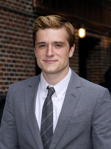 """Josh visits """"Late mostra With David Letterman"""