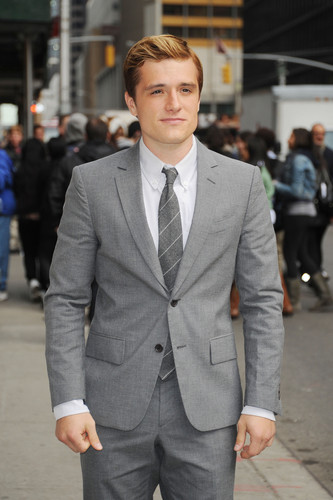 "Josh visits ""Late Show With David Letterman"