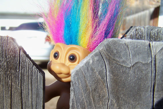Troll Dolls images Just a quick Peak wallpaper and background photos