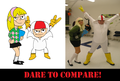 KB: Dare to compare!