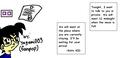 Kaito KID's notice for Tantei-kun (by:Yagami003) - kaitou-kid fan art