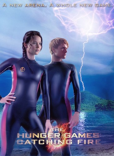 Katniss & Peeta- Catching Fire