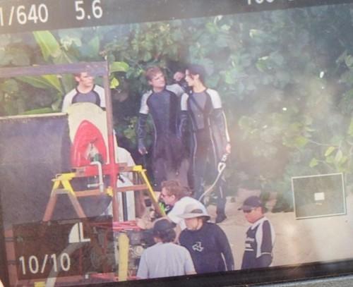 Katniss, Peeta and Finnick
