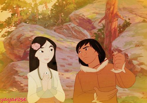 Kenai and Mulan