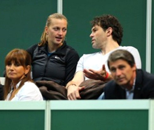 Kvitova and Jagr October 29, 2012