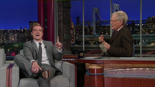 Late hiển thị with David Letterman - Screencaptures [HQ]