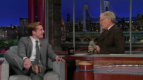 Late mostrar with David Letterman - Screencaptures [HQ]