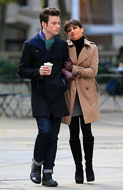Lea and Chris shooting in NY