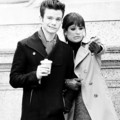 Lea and Chris shooting in NY - glee photo