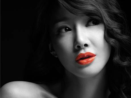 Lee Si Young sexy pout