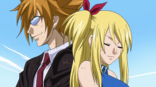Leo Loke and Lucy H   Fairy Tail  - anime PhotoFairy Tail Lucy And Loke Kiss