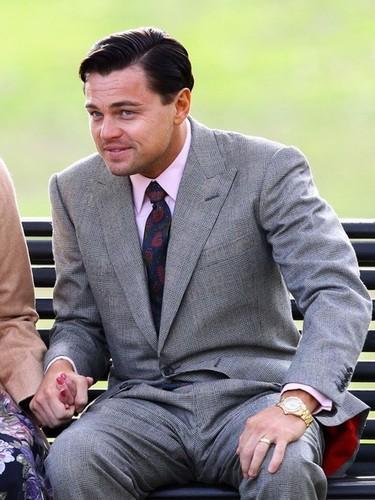 Leonardo DiCaprio on Set in Brooklyn