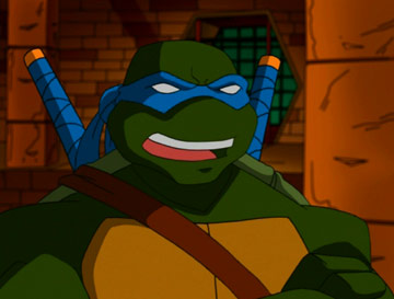TMNT Leonardo fond d'écran possibly with animé called Leonardo