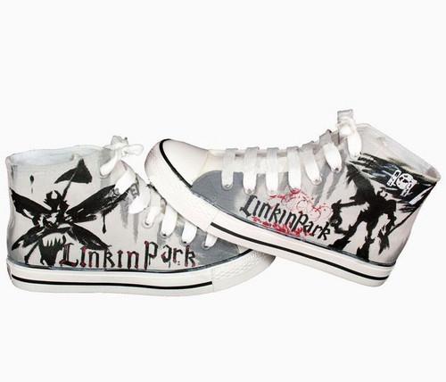 Linkin Park custom sneakers