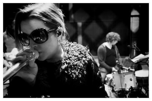 Lisa rehearsing (2012)