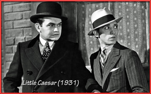 Classic Movies wallpaper containing a business suit and a suit called Little Caesar 1931