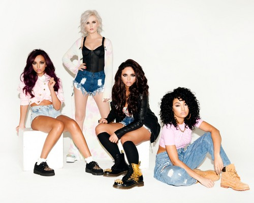 Little Mix fond d'écran probably with a portrait called Little Mix fond d'écran