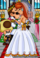 Luigi and gänseblümchen, daisy wedding