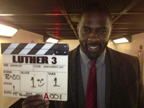 Luther Series 3 begin Filmed
