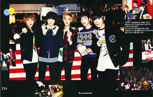 MBLAQ 2013 @ Official Season Greetings - uithangbord CALENDAR