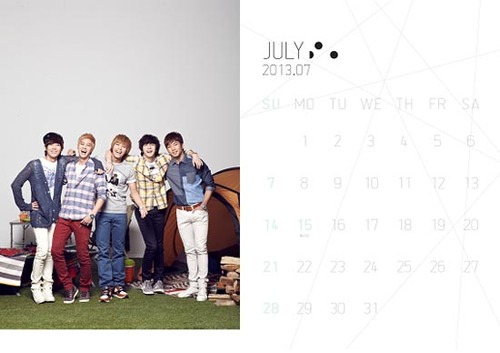 MBLAQ 2013 @ Official Season Greetings - WALL CALENDAR - mblaq Fan Art