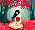 Marceline: Shades of Red - adventure-time-with-finn-and-jake fan art