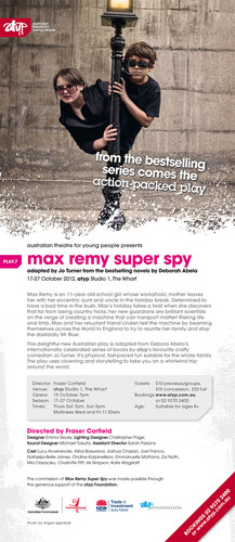 Max Remy the play