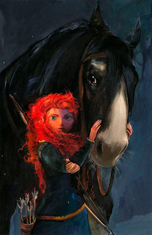 Merida Brave Fan Art 32861299 Fanpop
